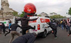Le 1er mai à Paris: Une agression inadmissible contre le mouvement ouvrier
