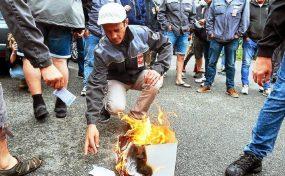 Élections régionales et départementales : grèves, manifestations ... ABSTENTION !  Édito Internationaliste 196